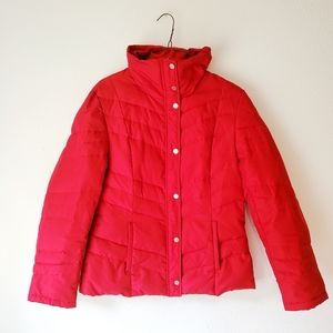 KENNETH COLE REACTION Red Feather Jacket